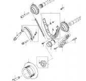 TIMING CHAIN & GEAR - LOWER